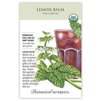 Lemon Balm Org
