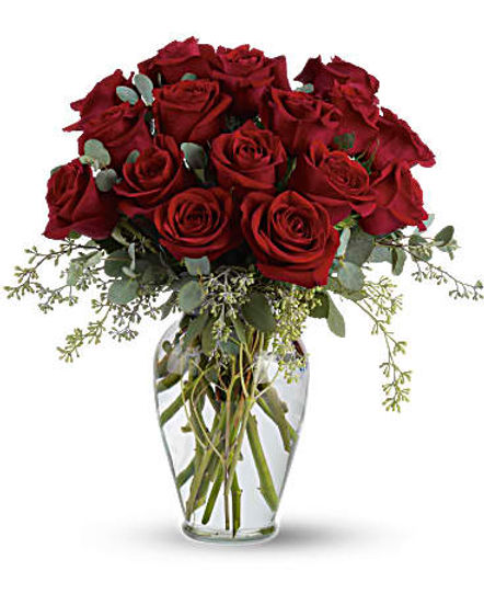 Full Heart - 16 Premium Red Roses