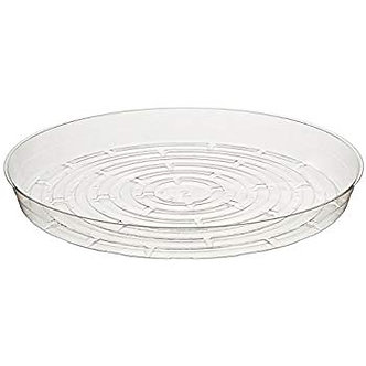 "Curtis Wagner Round Clear Vinyl 8"" Plant Saucer"