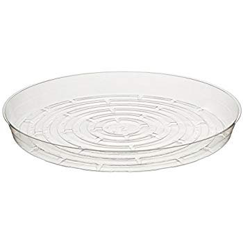 "Curtis Wagner Round Clear Vinyl 12"" Plant Saucer"