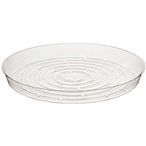 """Curtis Wagner Round Clear Vinyl 8"""" Plant Saucer"""