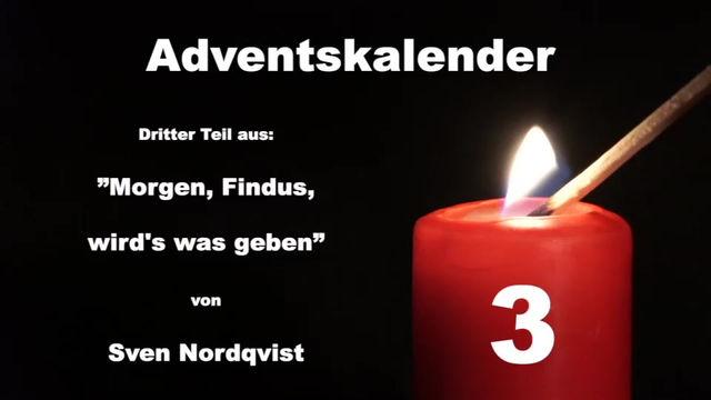 Wir wünschen Euch einen schönen 3. Dezember!