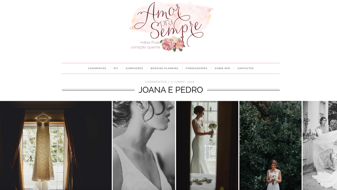 Featured on Amor pra Sempre blog!
