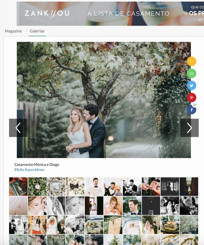 Featured on Zankyou Weddings
