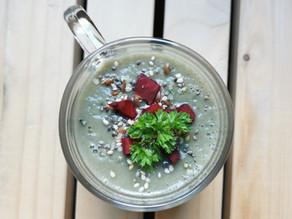 Soupe aux champignons et au persil : une TUERIE ! 😍😋