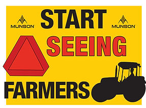 start seeing farmers