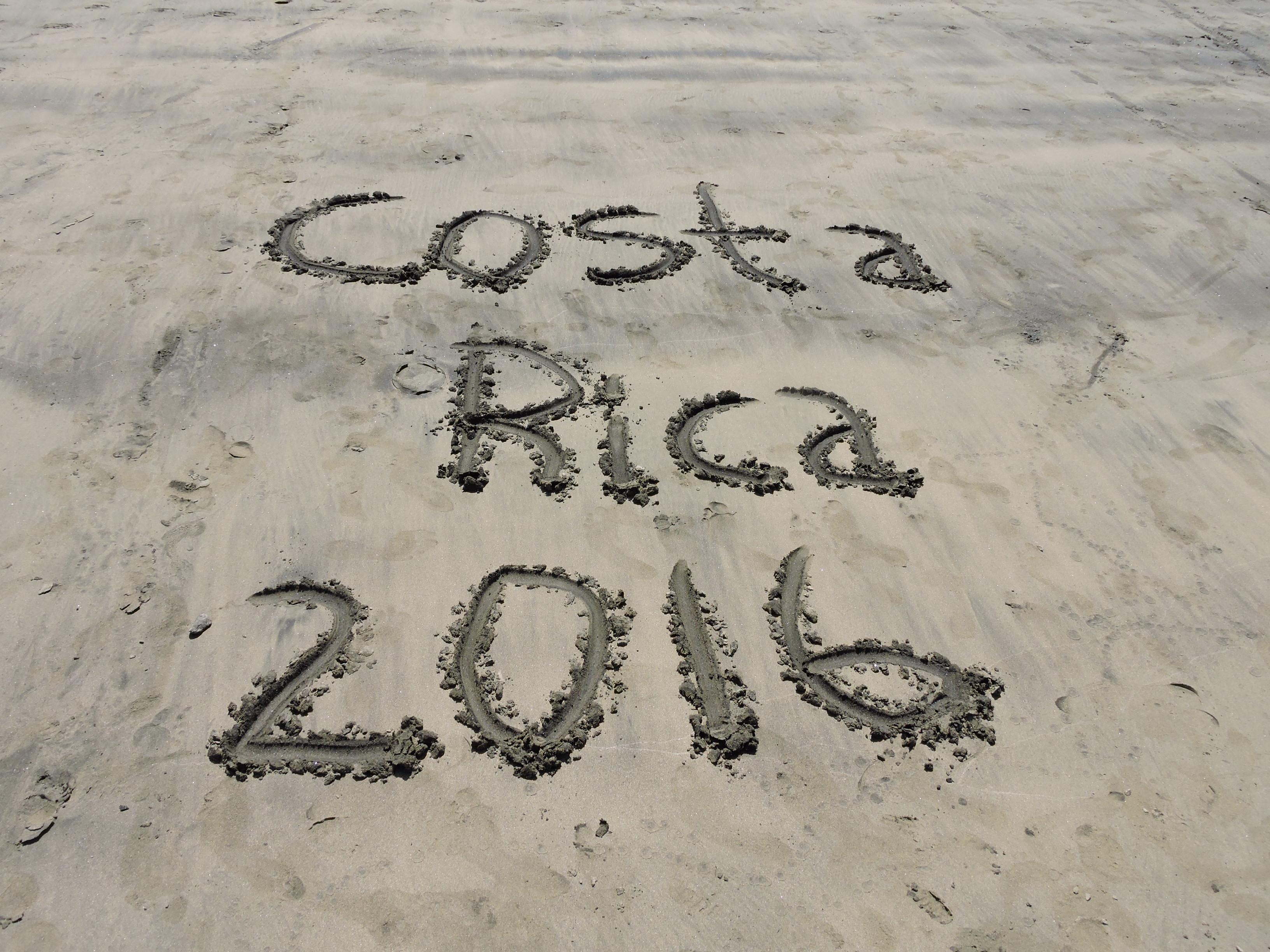 2016 Costa Rica Trip