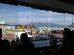 Fish n' Chips view at Muiz Beach