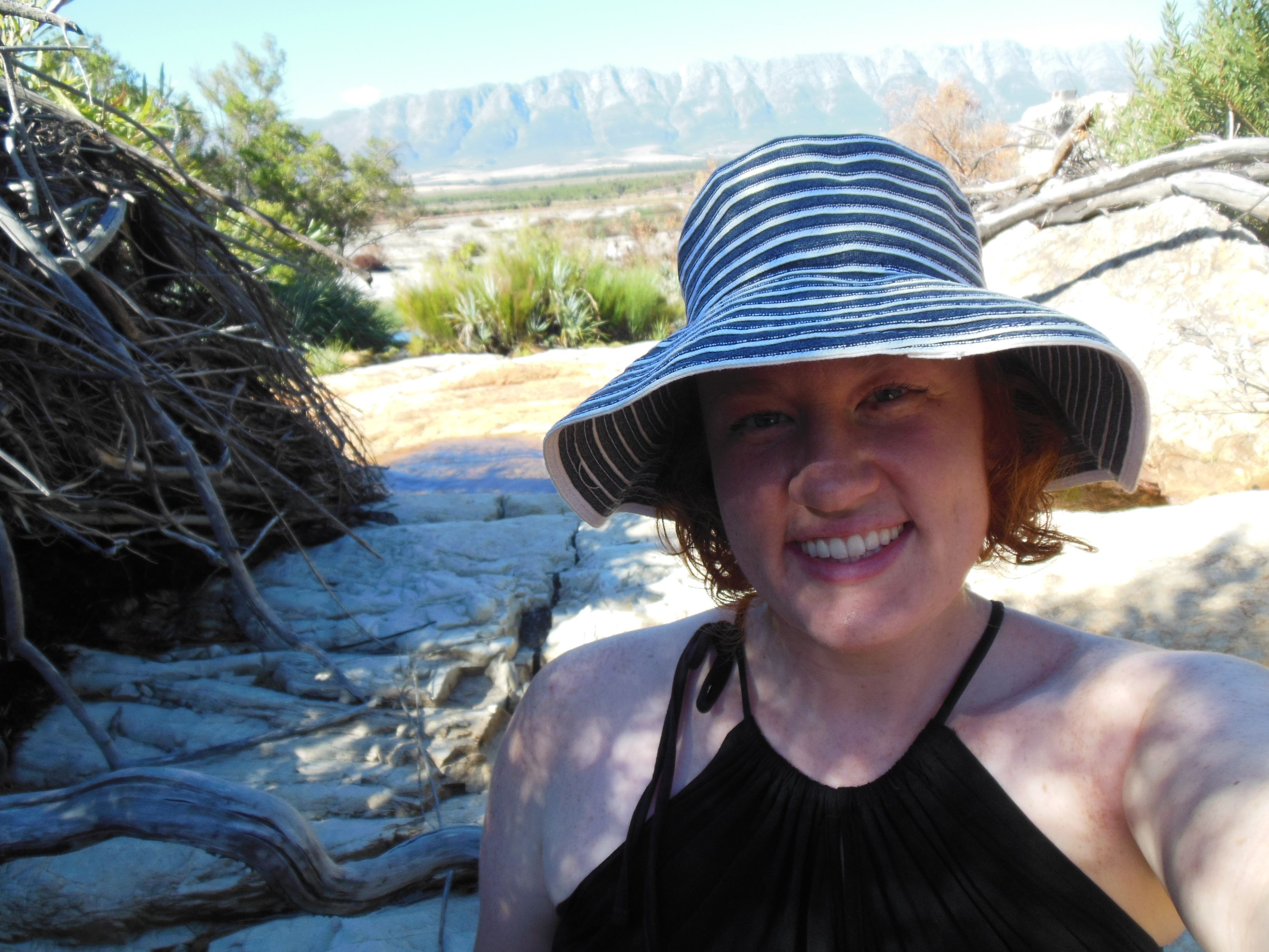 melanie tulbagh top of waterfall