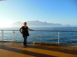 melanie cruise ship. table mtn