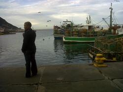 Meagan at Kalk Bay