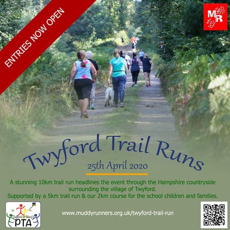 Twyford Trial Runs 2020 - Muddy Runners Go Cupless