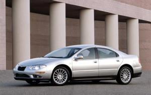 A 2002-2005 Chrysler 300M Special sedan in silver