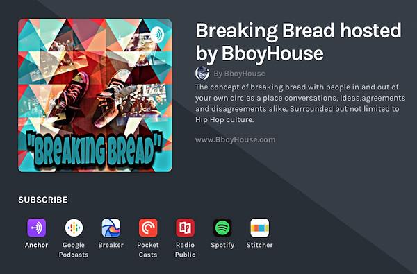 Breaking Bread podcast