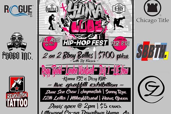 Yuma Love Hip Hop