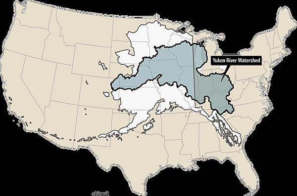 Yukon River InterTribal Watershed Council Water Quality - Yukon river world map