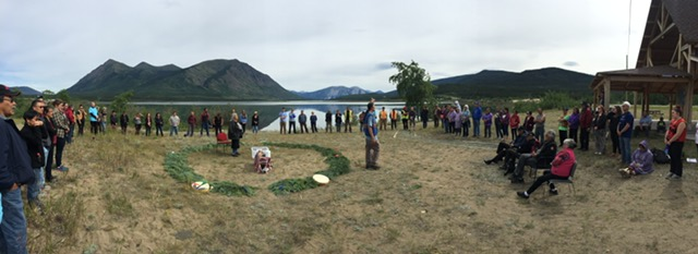 Water Ceremony pano