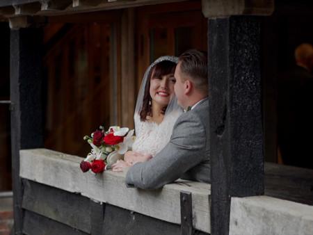 Tewin Bury Farm: A Barn Wedding In Hertfordshire -  / Gina & Phil