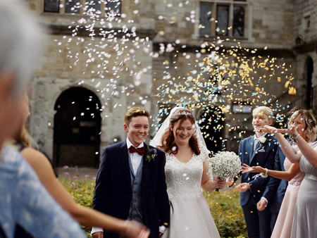 The Secret Garden Wedding Ashford: A Lockdown Wedding In Kent -  / Lauren & Harry