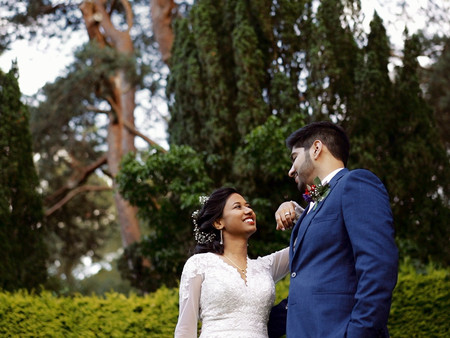 Grim's Dyke Hotel Wedding: An Intimate Wedding In London -  / Karis & Rasi