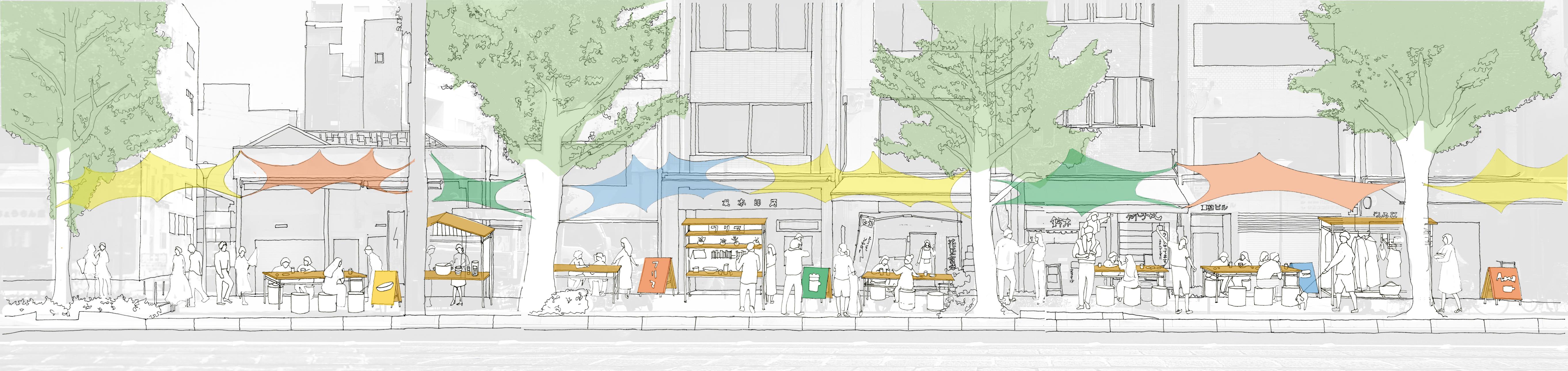 「移動する建築」都市設計コンペ  ファイナリスト