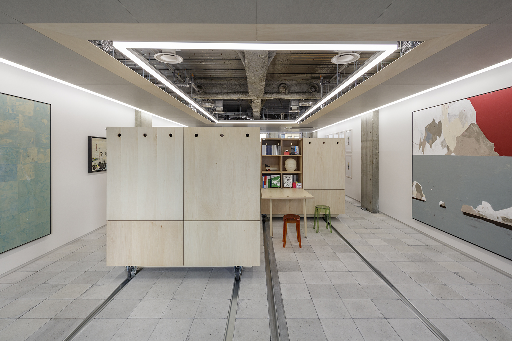 六本木のオフィス