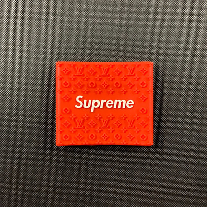 Supreme Red/White Clipper Grip