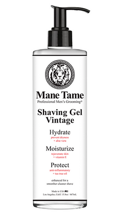 Mane Tame Vintage Shaving Gel 15.8oz