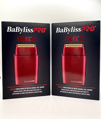 6 BaBylissPro Red Shavers