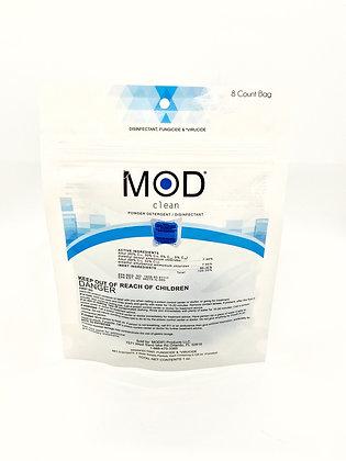 Mod Clean® - Powder Disinfectant Pods - 8 count