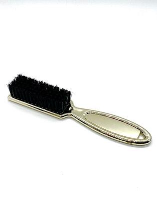 Soft Gold Barber Brush