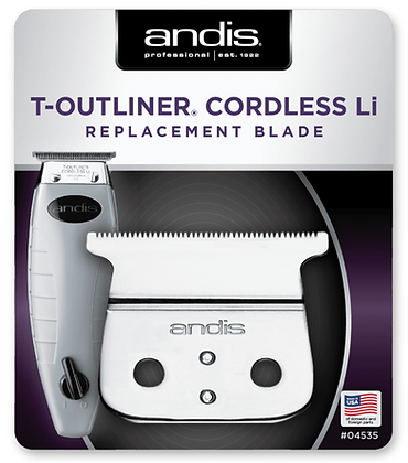 ANDIS T-OUTLINER CORDLESS LI REPLACEMENT BLADE.