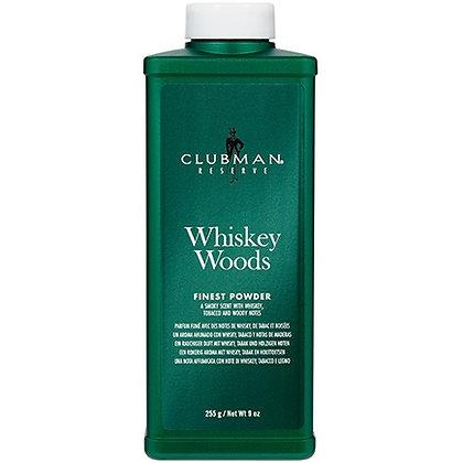 M Clubman Reserve Whiskey Woods Finest Powder 9 oz