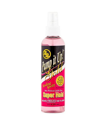Pump it Up Gold Super Hold Spritz