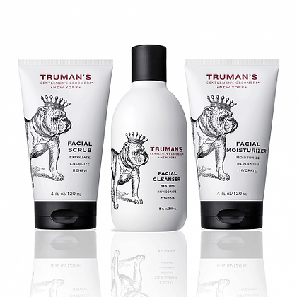 Truman's Face Regimen 3-Piece Set