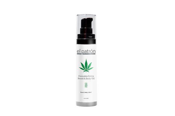 Cannabis Sativa Beard,Body & Tattoo Oil 1oz