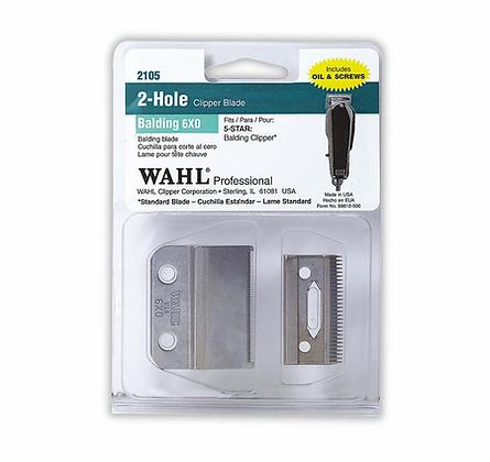 WAHL 2105 Balding 6X0 Blade