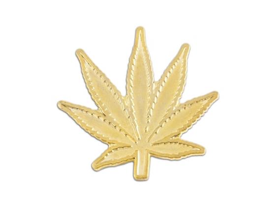 CALIFORNIA MAPLE LEAF LAPEL PIN (GOLD)