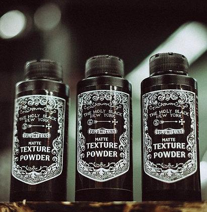 MATTE TEXTURE POWDER- The Holy Black