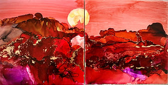 Cielo Rojo alcohol ink.jpg