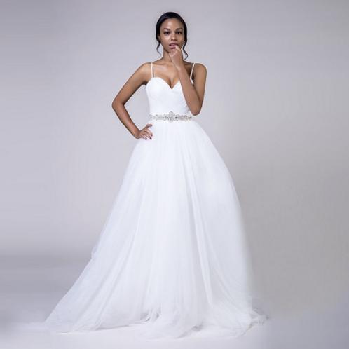 EA180 Sweetheart Spagetti Strap Wedding Gown