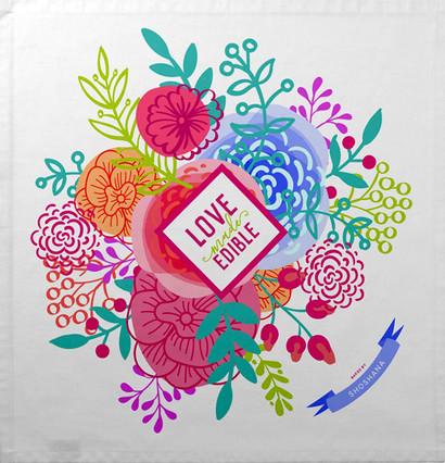 Bright Florals Love made Edible.jpg