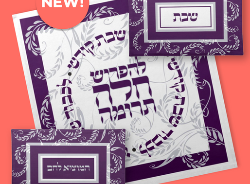 NEW- Challah Cover Coordinates