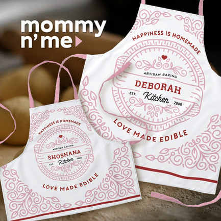 Mommy & Me Artisan Baking Pinks_Mommy &