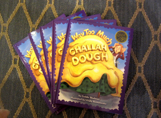 """Way Too Much Challah Dough""-The Book"