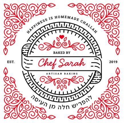 Challah Dough Cover Line Art