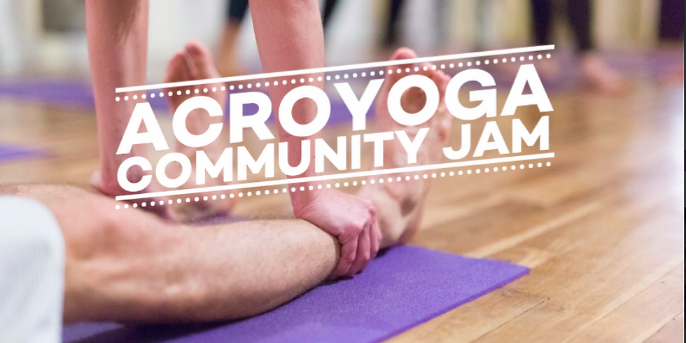 Acroyoga Community Jam