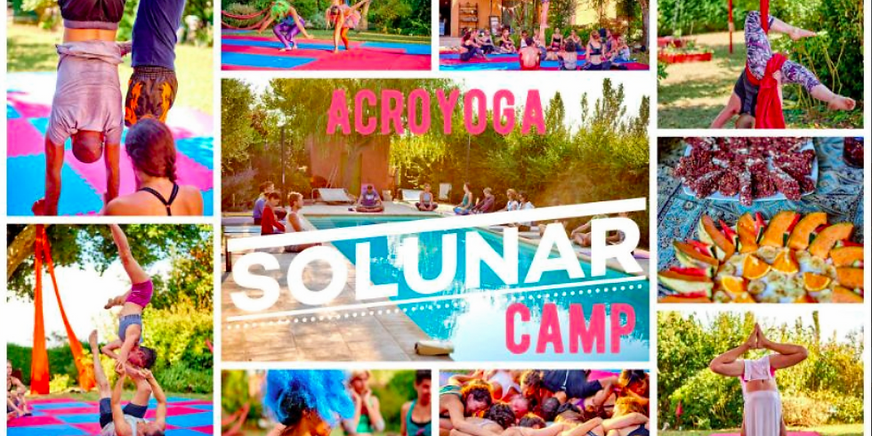Acroyoga Solunar camp : free fun and fly