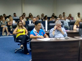 Dr. Ronaldo Onishi participa da audiência da Comissão de Saúde