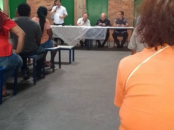 Dr. Ronaldo Onishi reúne moradores para discutir segurança pública